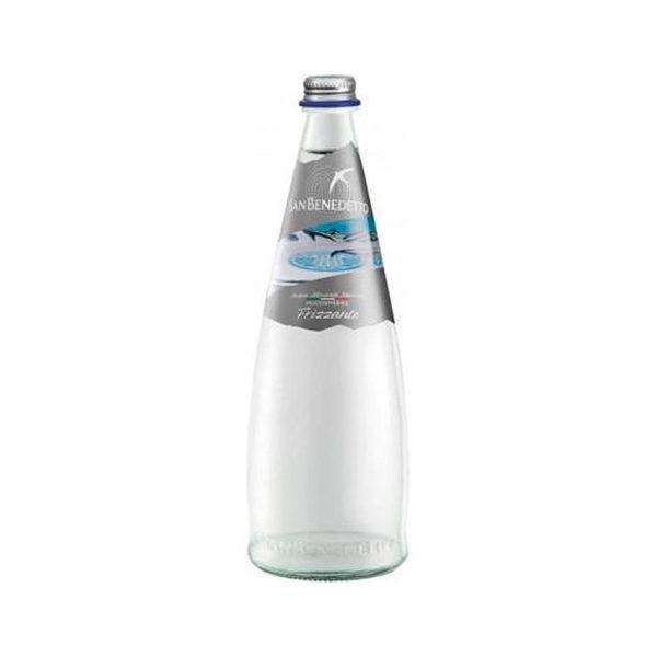 Минеральная вода с газом San Benedetto 0.75 Сан Бенедетто 0.75 газированная Стекло