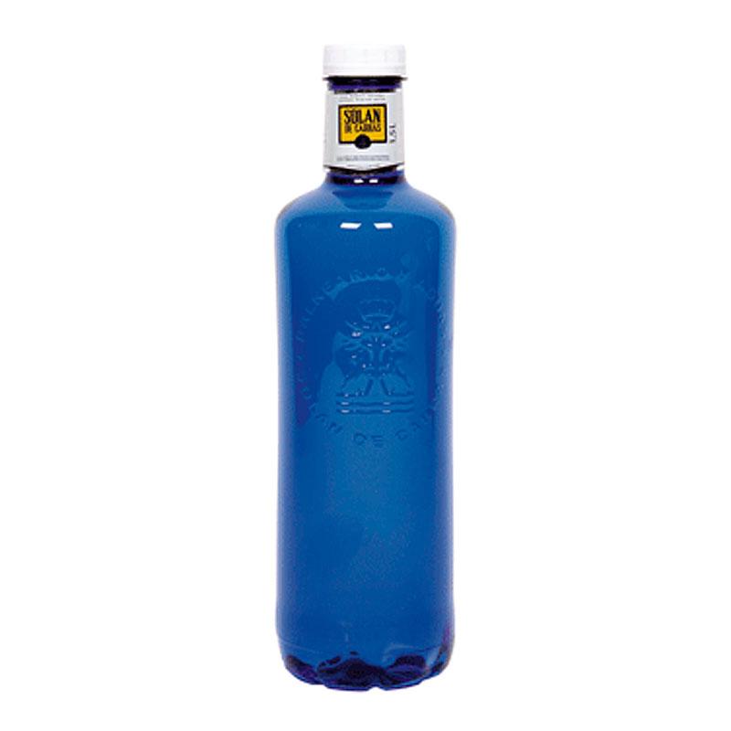 Вода питьевая Солан де Кабрас негазированная (Пластик) 1500мл.
