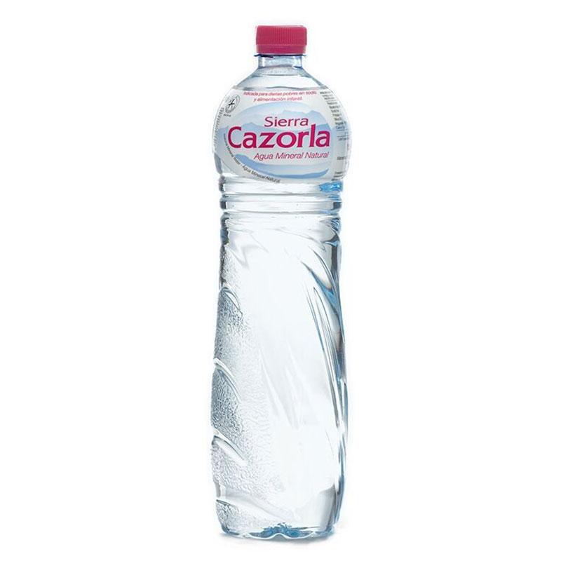 Минеральная вода без газа Sierra Cazorla Сьерра Казорла 1