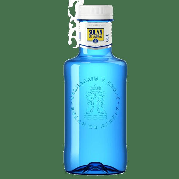 Вода питьевая Солан де Кабрас негазированная (Пластик) 500мл.
