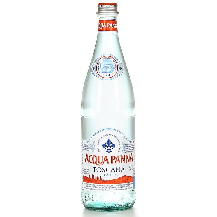 Минеральная вода без газа Acqua Panna Аква Панна. 0