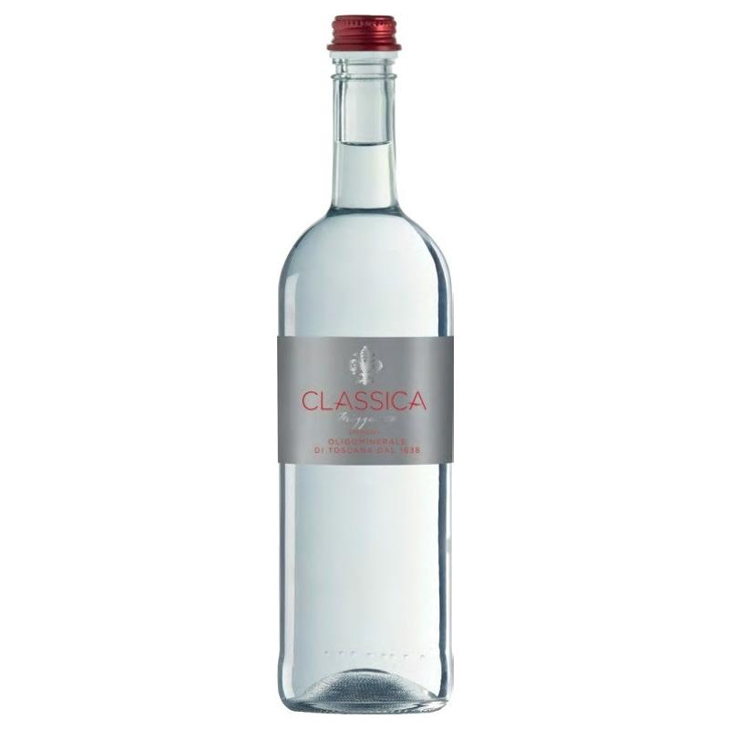 CLASSICA sparkling water (Glass)КЛАССИКА минеральная вода ГАЗИРОВАННАЯ (Стекло) 0