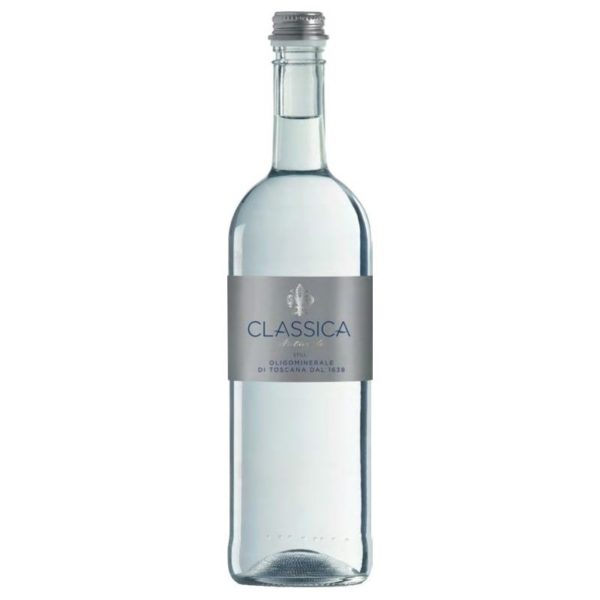 CLASSICA still water (Glass)КЛАССИКА минеральная вода НЕГАЗИРОВАННАЯ (Стекло) 0