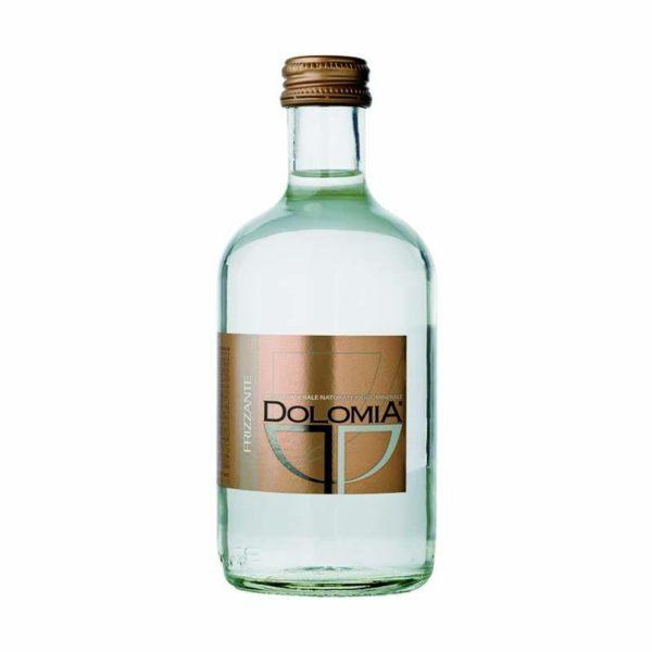 Минеральная вода с газом Dolomia Долмиа 0.33 стекло