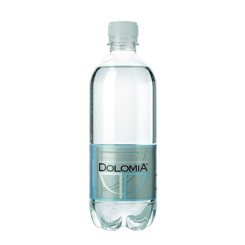 Минеральная вода с газом Dolomia Долмиа 0.5 пэт