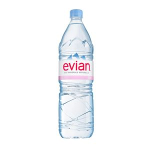 Минеральная вода без газа Evian Эвиан 1