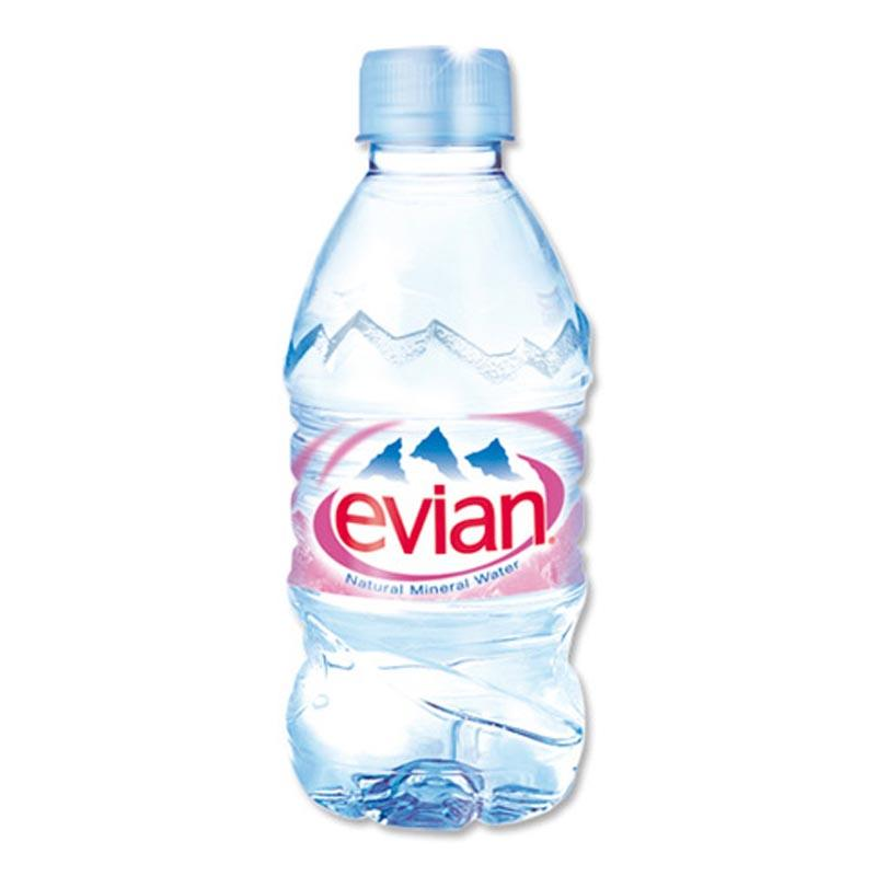 Минеральная вода без газа Evian Эвиан 0