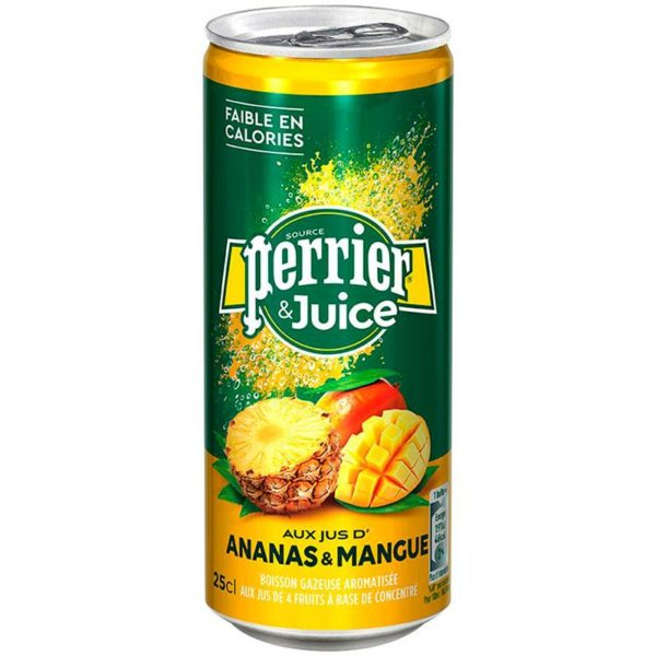 Perrier Ananas & Mango Перье Ананас + Манго 0