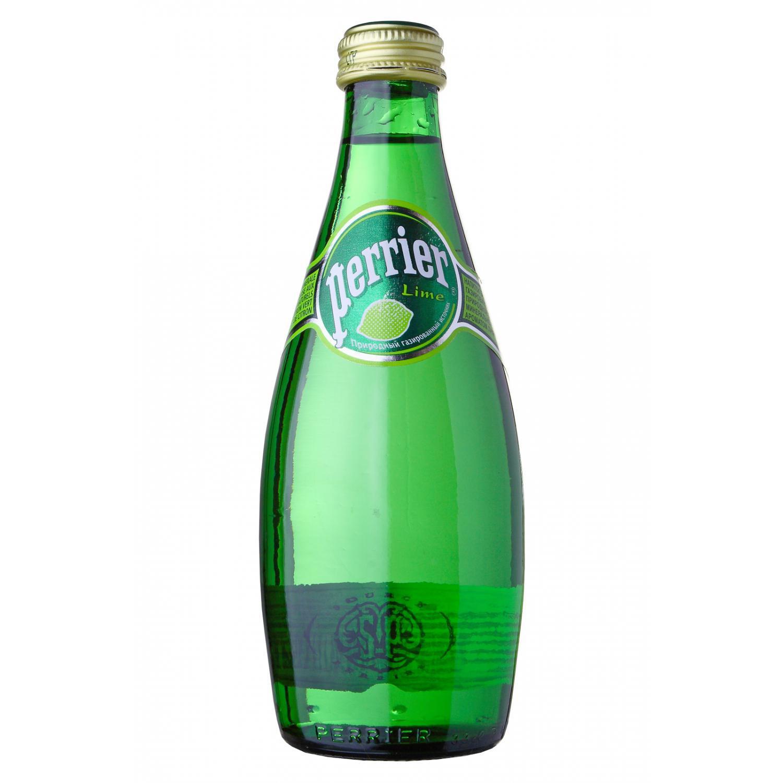 Минеральная вода с газом Perrier Перье Лайм 0
